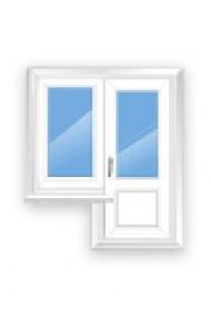 Veka 3-камерное балконная группа (2100*750+1400*1300)