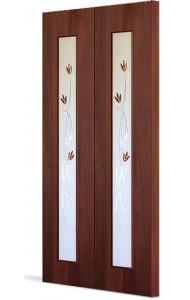Двери складные С-17(ф) тюльпан